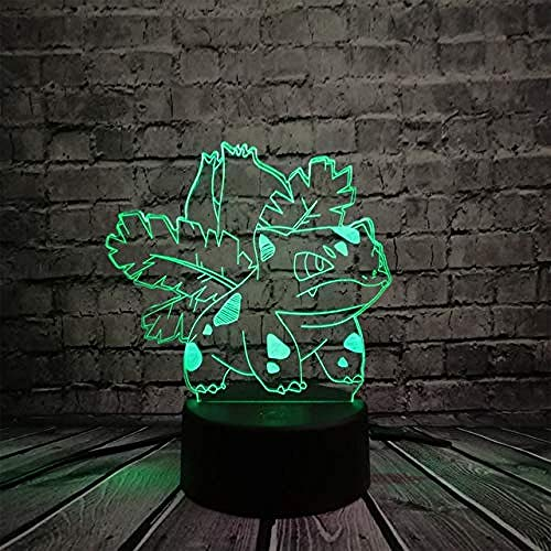 3D nachtlampje illusie Lights slaapkamer verlichting bedverlichting Bay Character Giftboy Grilnovelty kerstcadeau Halloween