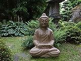 Yajutang Piedra Buda Shakyamuni Siddhartha Gautama para jardín y balcón