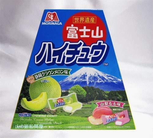 富士山ハイチュウ (山梨もも味・静岡クラウンメロン味) 94g