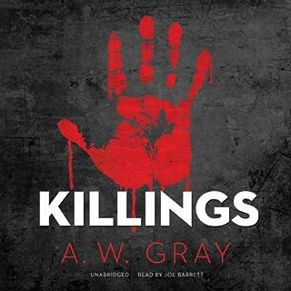Killings audiobook cover art