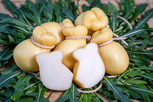 Formaggio Pasta Filata Diavoletto Prodotto In Penisola Sorrentina Conf. da 1 Kg. 6 Pz (Semplice)