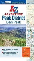 Dark Peak Adventure Atlas (A-Z Adventure Atlas) by Geographers' A-Z Map Company(2015-01-20)