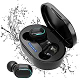 Auriculares Bluetooth, Auriculares Inalámbricos Bluetooth, Auriculares con Cancelación de Ruido, Cas...