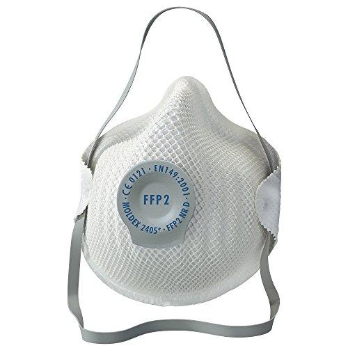 Moldex 240555FFP2NR D'Classic' máscara respiratoria con válvula de aire,...