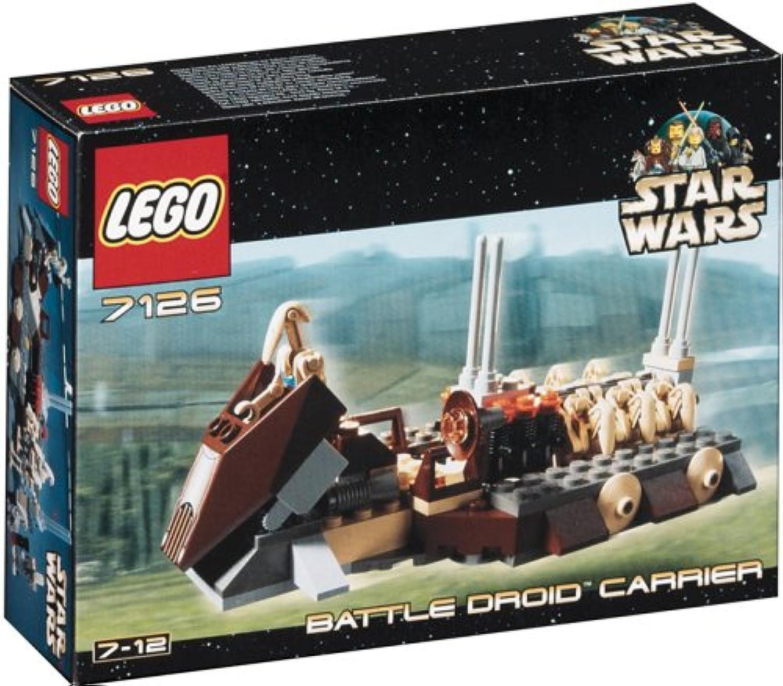 LEGO 7126  Battle Droid Carrier, 133 Teile