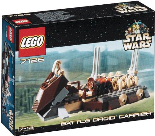 Lego 7126 - Battle Droid Carrier, 133 Teile