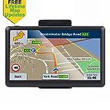 GPS Navigation for Car, 7 Inch Car GPS Navigation System, Car Vehicle Electronics Lifetime Free Maps
