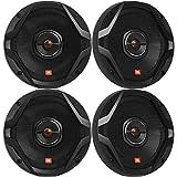 4 x JBL GX Series GX628AM 6.5' 2-Way 180 Watt Peak Power Coaxial Car Audio Speakers (Reconditioned)
