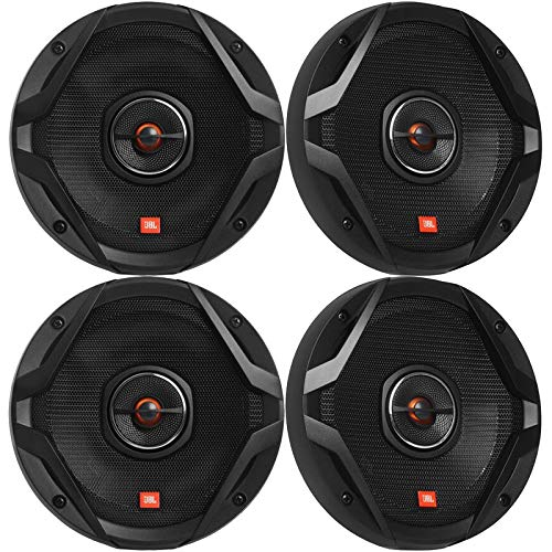 4 x JBL GX Series GX628AM 6.5' 2-Way 180 Watt Peak Power Coaxial Car Audio Speakers (Reconditioned)