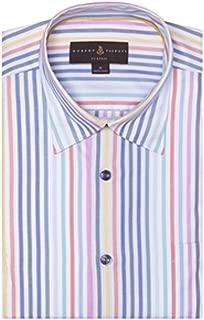 Multi-Color Twill Stripe Anderson II Classic Fit Sport Shirt