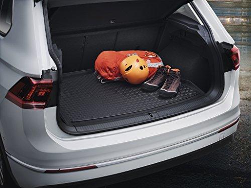 Volkswagen Original VW Tiguan Kofferraumeinlage Gepäckraumeinlage 5NA061160A Basis Ladeboden, schwarz