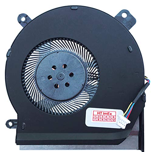 (CPU Version) Ventola Fan Cooler Compatibile con ASUS ROG Strix Scar II GL504GS, ROG Strix Scar II GL504GV, ROG Strix Scar II GL504GW