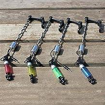 PinShang - Juego de Indicadores de picada con Cadena LED, Alarma, Accesorio de Pesca de Carpa para Alarma de picado