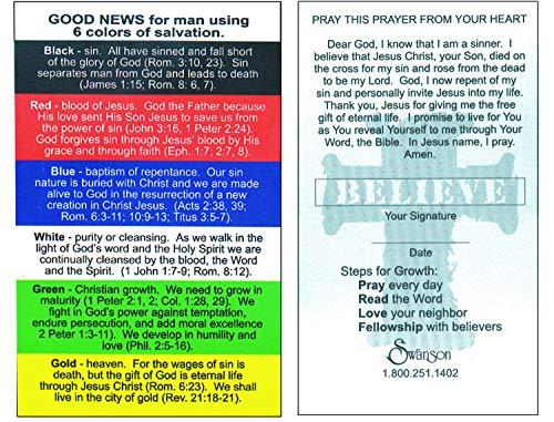 Swanson Christian Supply Pocket Card Plan Of Salvation