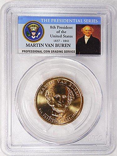 2008 P Pos. B Martin Van Buren Presidential Dollar PCGS MS 66...