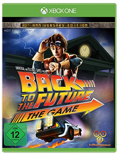 Telltale Games Back to the Future: The Game, 30th Anniversary Edition, Xbox One Básico Xbox One Alemán vídeo - Juego (30th Anniversary Edition, Xbox One, Xbox One, Aventura, T (Teen))