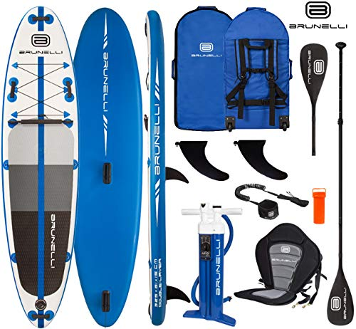Brunelli 10.8 Windsurf Premium Allround SUP Stand Up Board 325cm