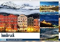 Innsbruck - Hauptstadt der AlpenAT-Version (Wandkalender 2022 DIN A3 quer): Wunderschoene Bilder aus Innsbruck und Umgebung, der Landeshauptstadt von Tirol (Monatskalender, 14 Seiten )