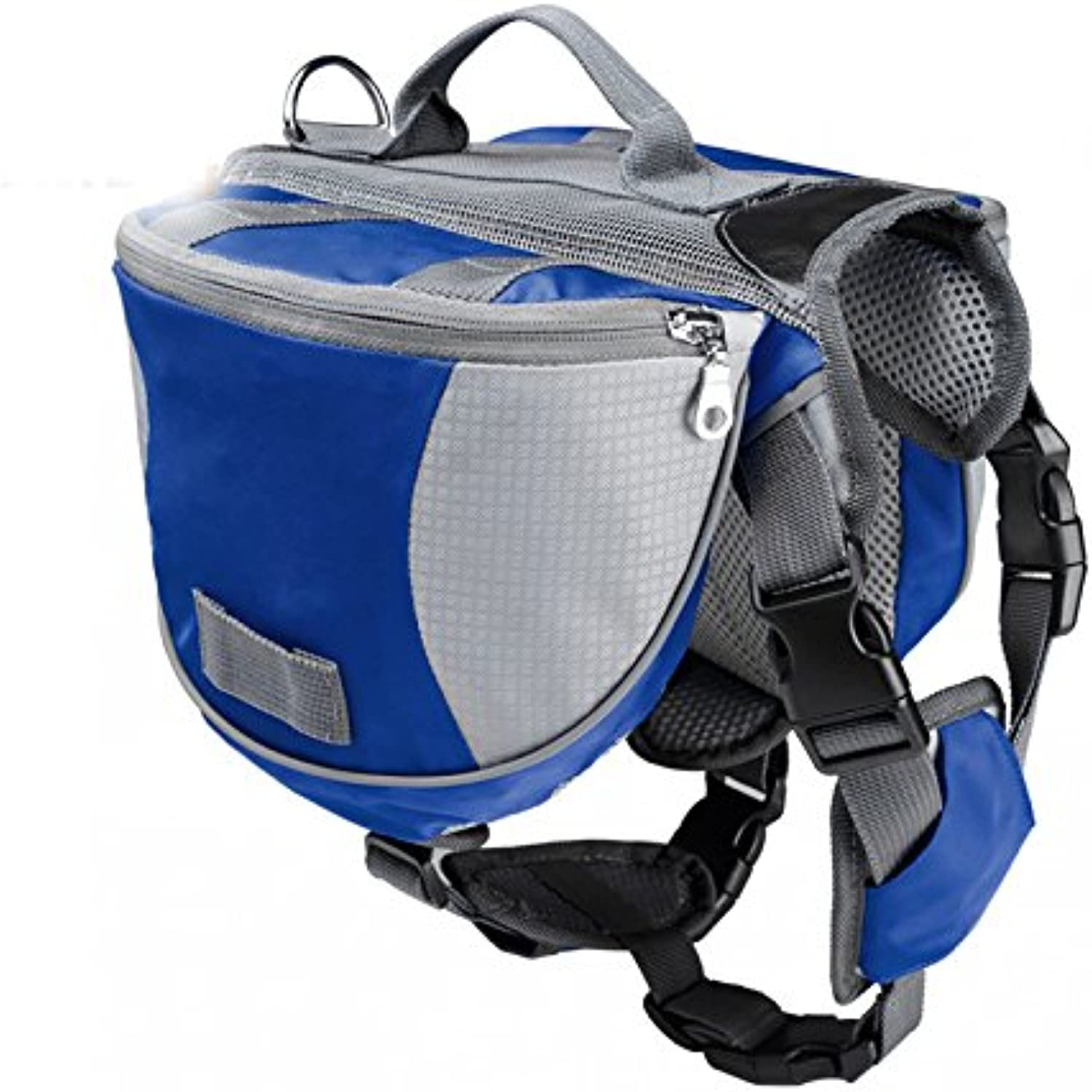 Going out pet dog backpack bag big dog pack bag dog bag outdoor sports package,blueee