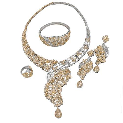 American Diamond Earrings Costum...