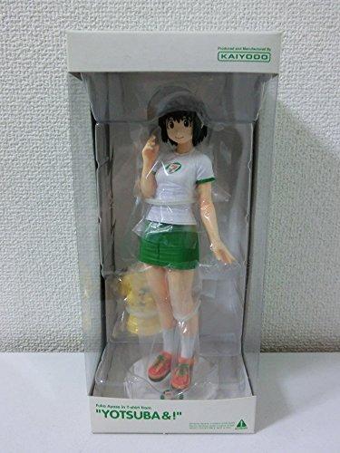 And Seven-Eleven Limited Yotsuba! Ayase Fuka T-shirt ver. PVC Painted Figure (japan import)