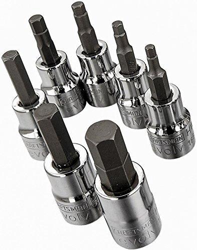 Craftsman Evolv 7 Piece Hex Bit Socket Set (SAE)