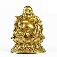 風水仏像装飾、禅ハッピーシット仏彫刻、富ラッキー仏装飾ギフト