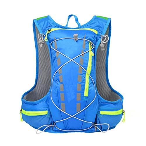 XKJFZ Paquete de hidratación de Agua Mochila Durable para Running Ciclismo Ciclismo Senderismo Escalada Esquí de Caza Bolsa Azul 1pc de Invierno Cálido Suministros