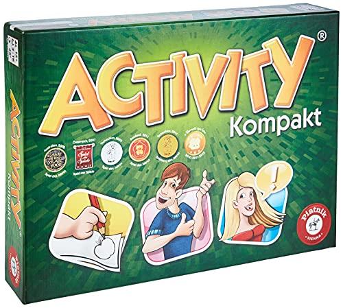 Piatnik 6002 Activity Kompaktausgabe | Spieleklassiker für Unterwegs | Spiel für die ganze Familie