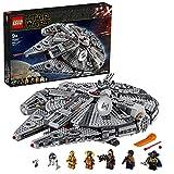 LEGO Star Wars Millennium Falcon, Set di Costruzioni dell'Iconica Astronave, con Finn, Chewbacca, Lando Calrissian, Boolio, C-3PO, R2-D2 e D-O, Collezione: L'Ascesa di Skywalker, 75257