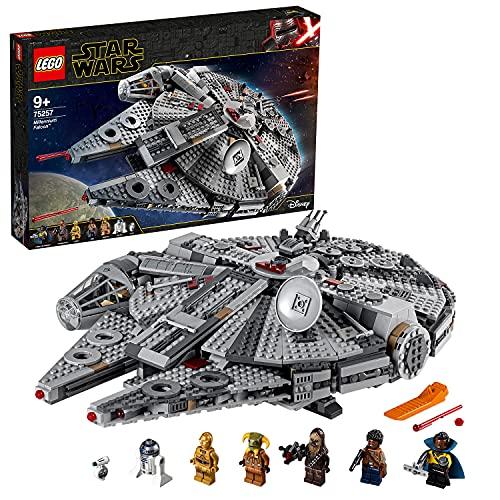 LEGO 75257 Star Wars Halcón Milenario Set de Construcción de Nave Espacial con Mini...
