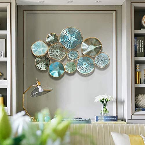 Hzjundasi Estilo Europeo diseño Hueco Decoración de Pared de Metal para Naturaleza Home Art Decoration & Kitchen Regalos - para Estudio/Sala de Estar/Dormitorio, (92 x 60 cm / 36.2'23.6'),