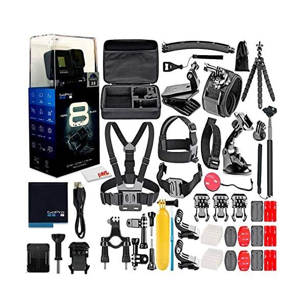 GoPro HERO8 Black Digital Action Camera – Waterproof, Touch Screen, 4K UHD...