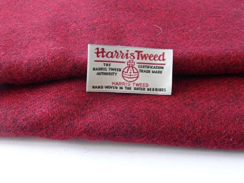 Authentic Harris Tweed Stoff 100% reine Wolle mit Etiketten.. 75cm x 50cm –-Nr. F22–--...