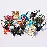 Kshong 13 unids / Set cómo Entrenar a tu dragón 2 Figuras de acción de PVC dragón sin Dientes Lindo Regalo de decoración de muñeca de Anime
