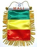 Unbekannt Mali Flagge Auto SUV Tonabnehmer Vans Trucks Haus Oder Auto afrikanischen Auto Flaggen