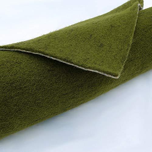 ® Ufermatte grün für Teichrandgestaltung - Profi Qualität - Starke Ausführung ca. 0,8 mm (Flächen von 1 qm bis 60 qm) (Breite 0,65 m, Länge 5 m)