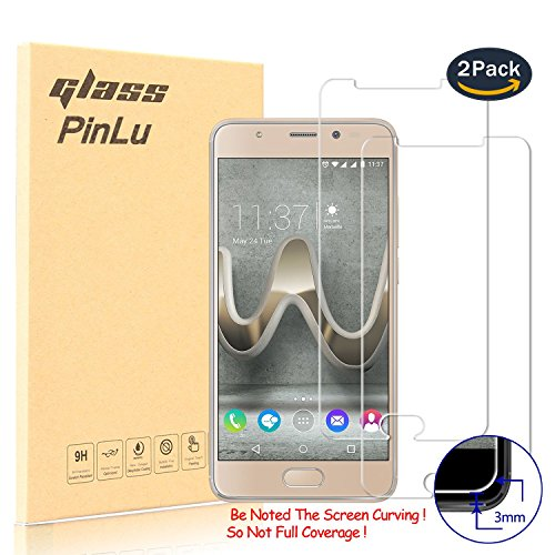 [2 Pack] Protector de pantalla de cristal para Wiko U Feel Prime...