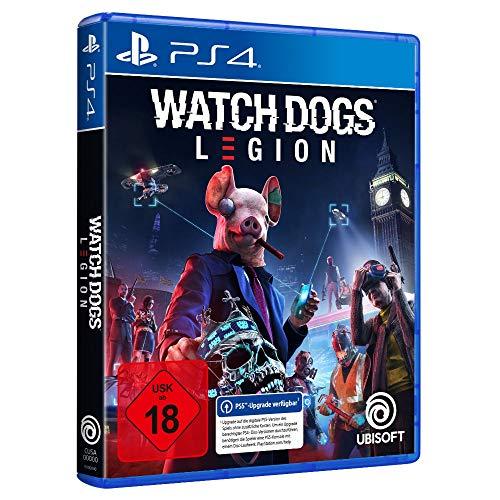 Watch Dogs: Legion - Standard Edition (kostenloses Upgrade auf PS5) | Uncut - [PlayStation 4]
