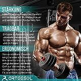 Zoom IMG-1 arteesol kit manubri bodybuilding 10kg