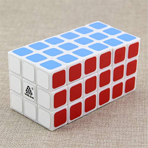 XXLL 3X3X6 Speed Cube Alien Puzzle 336 Smooth Twist Logic Game Puzzle Cube Relieve stress Toy Decompression Artifact for Adults and Children