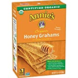 Annie's Organic Graham Crackers, Honey Grahams, 14.4 Oz Box