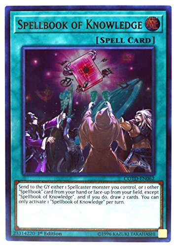 Yugioh - Spellbook of Knowledge COTD-EN062, Ultra Rare, New