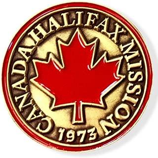 LDS Canada Halifax Mission Commemorative Lapel Pin