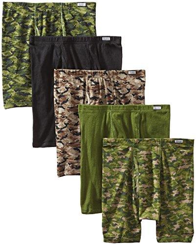 Hanes Men's 5-Pack Comfort Soft Boxer Briefs
