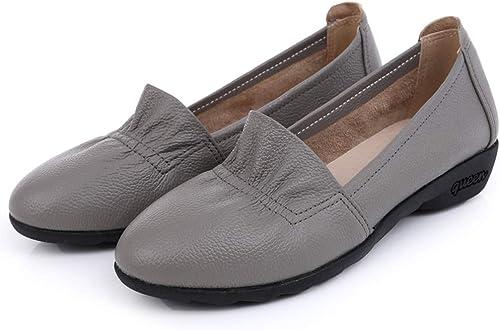 Hauszapatos De Conducción Mocasines Bombas Hauszapatos De Barco zapatos Planos Cómodos Hauszapatos De Trabajo Casuales