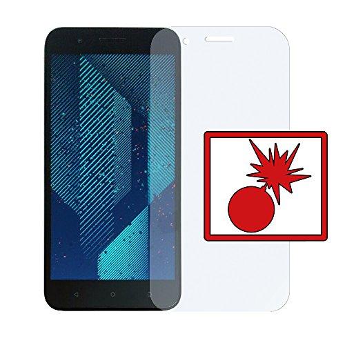 Slabo 2 x Panzerschutzfolie für HTC One X10 Panzerfolie Bildschirmschutzfolie Schutzfolie Folie Shockproof KLAR