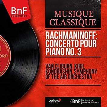 Rachmaninoff: Concerto pour piano No. 3 (Live, Mono Version)