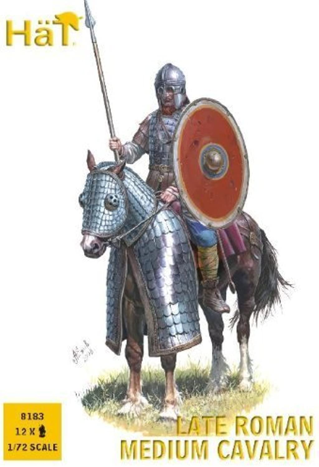 Hat Figures  Late Roman Mounted Archers  HAT8183 by Hat Industrie