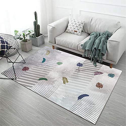 Kunsen habitación alfombras Infantiles Alfombra para habitación de niños decoración de Sala de Estar Rectangular Moderno Suave Antideslizante Camas Dobles 40X60CM 1ft 3.7' X1ft 11.6'
